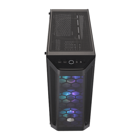 Gabinete Cooler Master MasterBox MB511 ARGB TG / Fan x3 ARGB 120mm / V. Templado