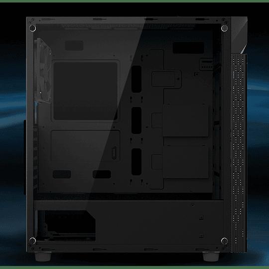 Gabinete Pc Gigabyte C200 RGB ATX Black - Vidrio Templado - 1x Fan 12cm