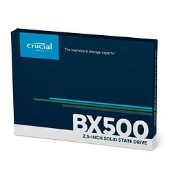 "Disco Solido SSD Crucial 1TB BX500 2.5"", Sata III, 7mm Interno - PC / NOTEBOOK"