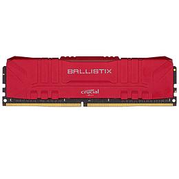 Memoria Ram Crucial Ballistix RED 8GB DDR4 2666 Mhz / BL8G26C16U4B