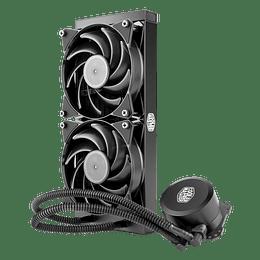 Refrigeración Liquida Cooler Master MasterLiquid Lite 240 Black / Pc Intel Amd