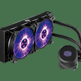 Refrigeración Liquida Cooler Master MasterLiquid ML240L V2 RGB / Pc Intel Amd