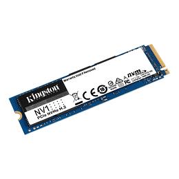 Unidad Estado Solido SSD 1TB Kingston SNVS/1000G NVMe PCIe Gen 3.0 M.2