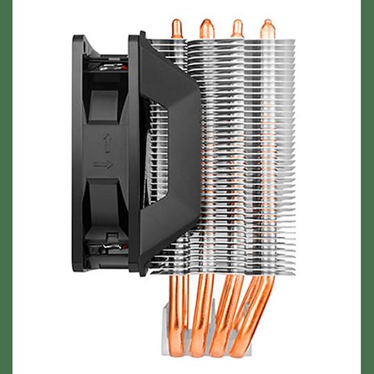 Ventilador Cpu Cooler Master Hyper H411R - Led White - Intel - AMD
