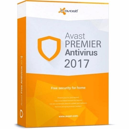 Avast Premier Antivirus Full 2017 1 Pc Licencia 5 Años - Image 1
