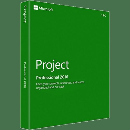 Microsoft Project 2016 Professional Original