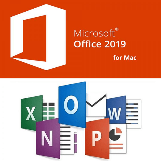 Microsoft Office 2019 Hogar y Empresas Original 1 MAC Descarga Digital - Image 1