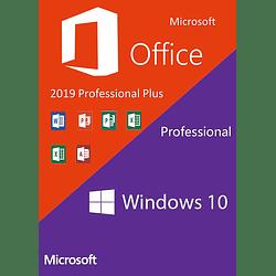 Windows 10 Pro + Office 2019 Professional