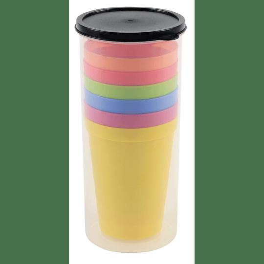 """Conjunto de copos """"Smart drink"""""""