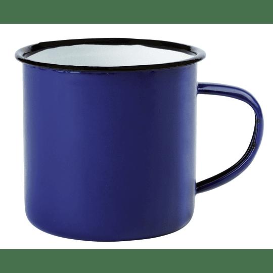 """Caneca de esmalte """"Retro cup"""" com asa"""
