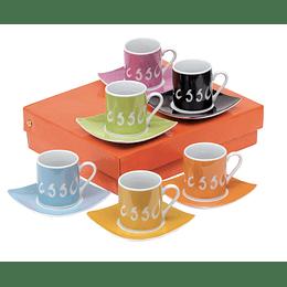 "Conjunto de café ""La dolce vita"""