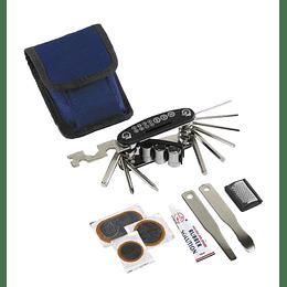 "Conjunto de ferramentas para bicicleta ""On tour"""