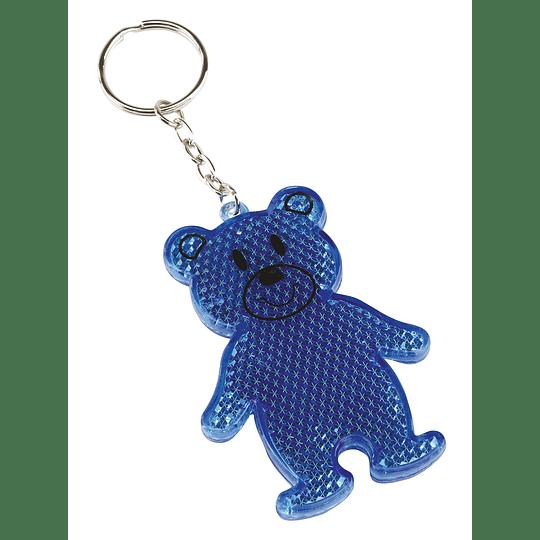 """Porta chaves refletor """"Teddy"""""""