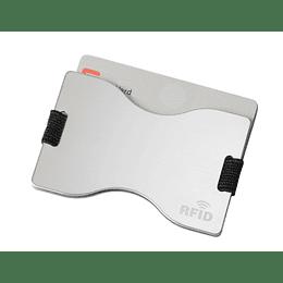"""Porta cartões """"Lock up"""" com proteção RFID"""