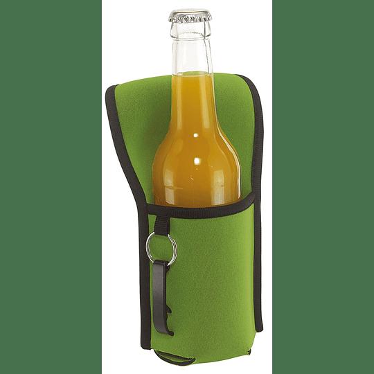 "Porta garrafas ""Cool hicking"" com aspecto de neopreno"