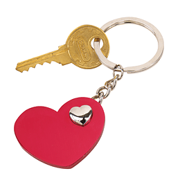 "Porta chaves ""Heart in heart"""