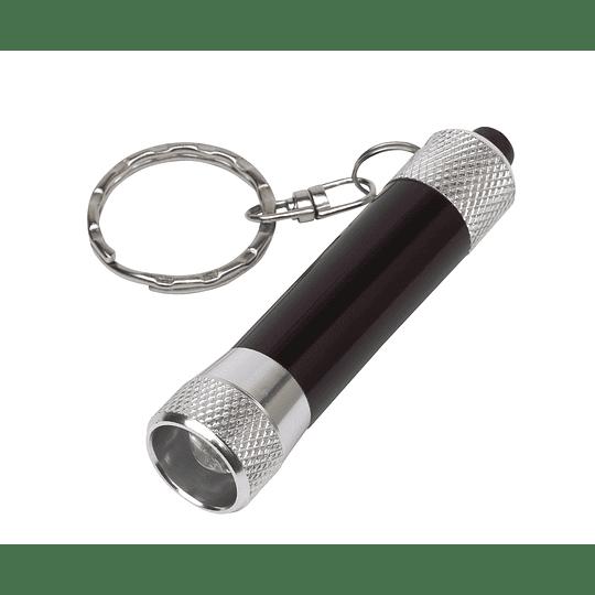 "Porta chaves ""Flare"" com lanterna LED"