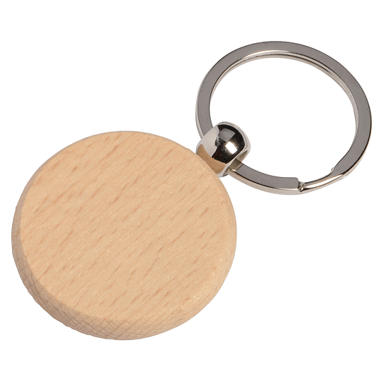 "Porta chaves ""Woods"" redondo"