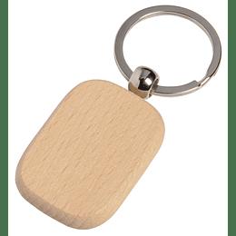"""Porta chaves """"Timber"""" rectangular"""