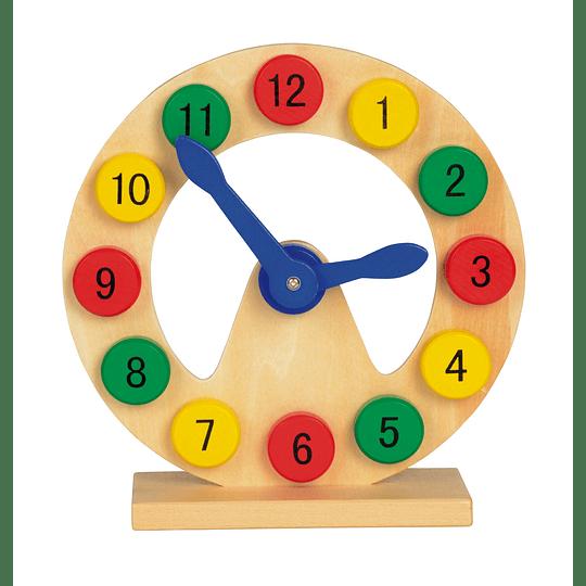 """Relógio de brincar""""Coloured time"""""""
