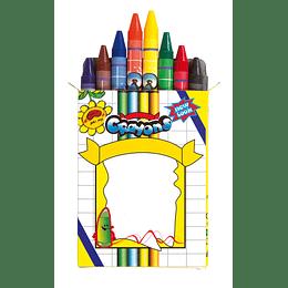 """Conjunto lápis de cera """"Imagine"""""""