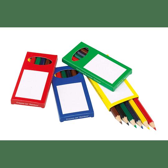 "Conjunto lápis de cor ""Rainbow"""