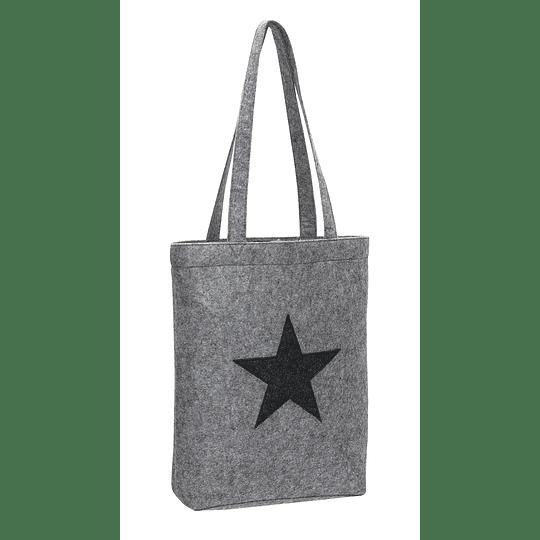 """Saco de feltro """"Star dust"""""""