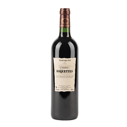 Vinho tinto Chateau roquettes – Saint emilion