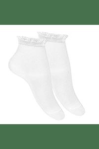 Calcetines cortos bolillo calado