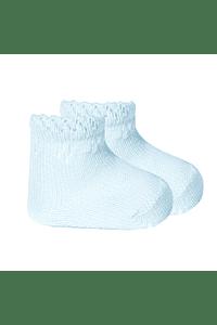 Calcetines tobilleros perle con detalles calados