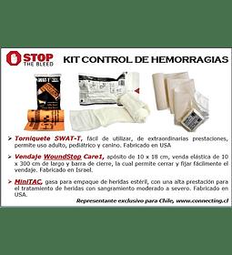TREK-1 Kit Control Heridas Hemorragicas