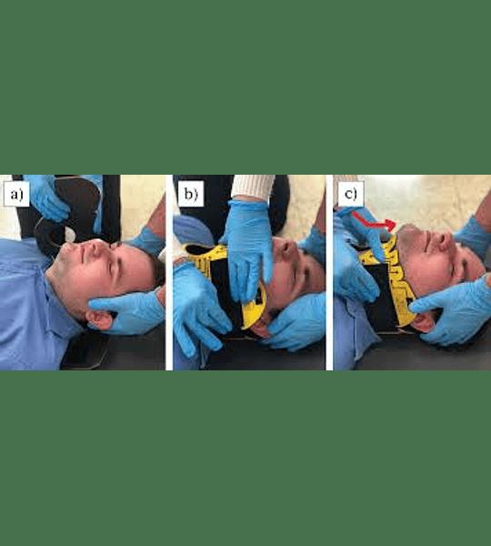Necklite, collar cervical flexible