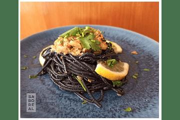 Esparguete nero com Saboreal
