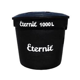 Tanque ecoplast 1000 litros negro - Eternit