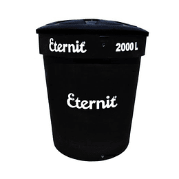 Tanque ecoplast 2000 litros negro - Eternit