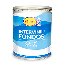 Intervinil blanco 2501 1/4 galón - Pintuco