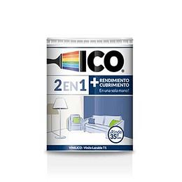 Vinilico blanco 2027155 1/4 galón - Ico