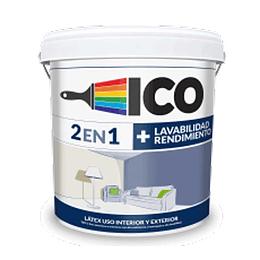 Vinilico blanco arena 2027160 caneca 5 galones - Ico