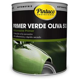 Primer anticorrosivo verde oliva 513 galón - Pintuco