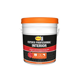 Estuco profesional interiores blanco galón 6 Kilos - Pintuco