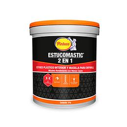 Estucomastic blanco galón 5 Kg - Pintuco