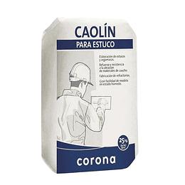 Caolín x 25 kg blanco extrafino