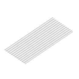 Teja Plástica Livianit Marfil No. 10 - Tipo Zinc