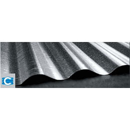 Teja zinc galvanizada no. 7 (0,17) x 2.10 C35 - Corpacero