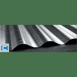 Teja zinc galvanizada no. 8 (0,14) x 2.40 C35 - Corpacero