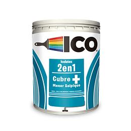 Icolatex 2 en 1 blanco x galón - ICO