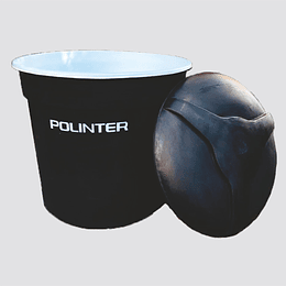 Tanque polinter aquatank C/Doble 1000 litros Negro