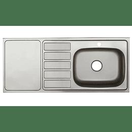 Mesón radiante 120x52 liso derecho monocontrol - Socoda