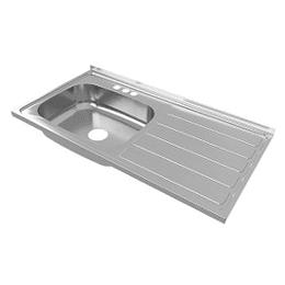 Lavaplatos vital izquierdo 100x52 mezclador - Socoda