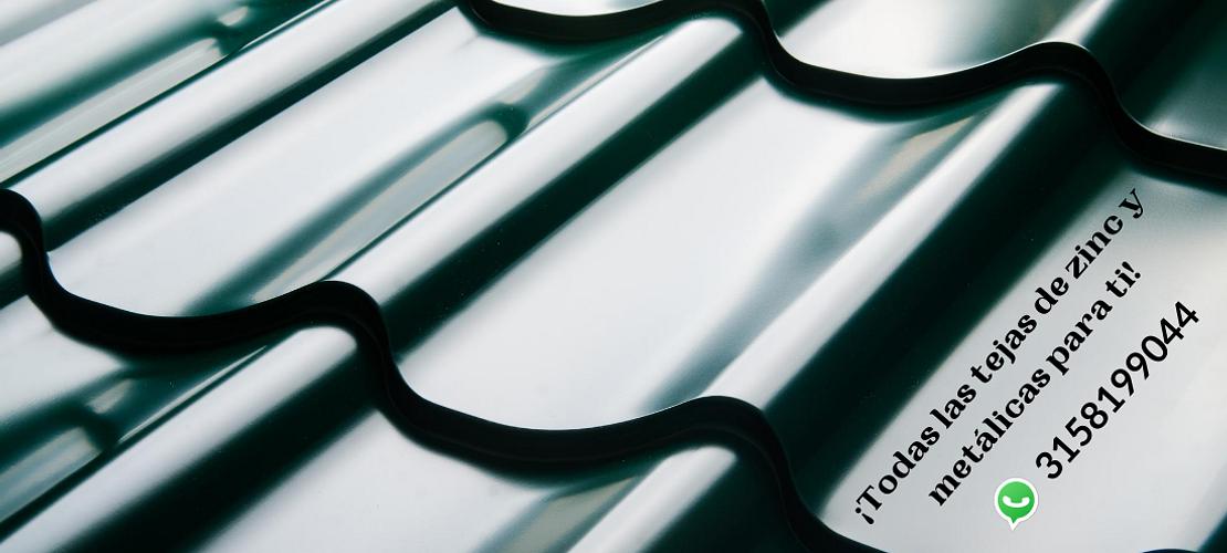 Tejas de zinc y metálicas